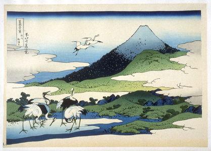 Katsushika Hokusai: Soshu Umezawa - from 36 Views of Fuji - Legion of Honor