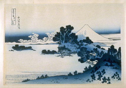 Katsushika Hokusai: Soshu Shitiri-gu-Hama - from 36 Views of Fuji - Legion of Honor