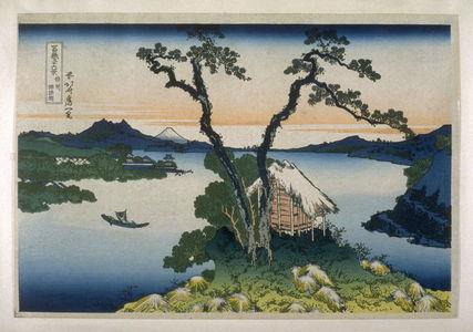葛飾北斎: Shinshu Suwako - from 36 Views of Fuji - Legion of Honor