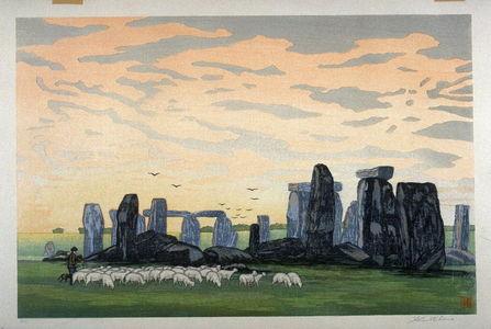 Yoshijiro Urushibara: Stonehenge (Daylight) - Legion of Honor