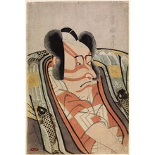 Utagawa Toyokuni I: The Actor Ichikawa Danj?r? VI as a Young Nobleman, from an untitled series of half-length portraits of actors - Legion of Honor
