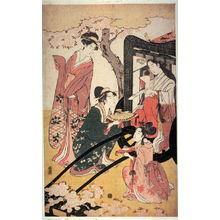 Eishi: Poetess in a Carriage - Legion of Honor