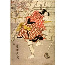 Utagawa Toyokuni I: Nakamura Utaemon III and Bando Mitsuguro V as Gokumon no Shobei and the Boatman Chuemon - Legion of Honor