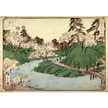 Utagawa Hiroshige: Unidentified image from a set of From Famous Views of Edo - Legion of Honor