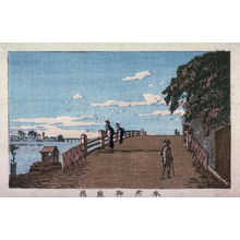 井上安治: Mikura Bridge, Honjo - Legion of Honor