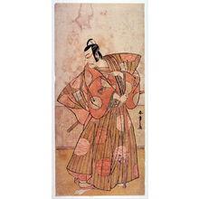 勝川春章: Actor as a Samurai with q Sword - Legion of Honor