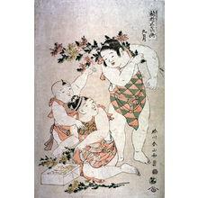 Katsukawa Shunzan: [he Boys' Festival in September - Legion of Honor