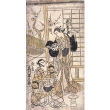 無款: [Segawa Kikunojo I and Fujikawa Heikuro as Mizue Gozen and Matano Goro] - Legion of Honor
