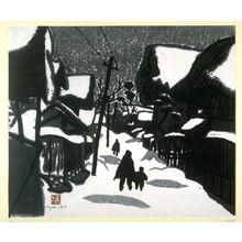 Kiyoshi Saito: Winter in Aizu - Legion of Honor