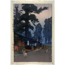 Yoshida Hiroshi: Way to the Kasuga Shrine - Legion of Honor