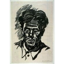 北岡文雄: Self-Portrait: At the time of Repatriation Manchukuo - Legion of Honor