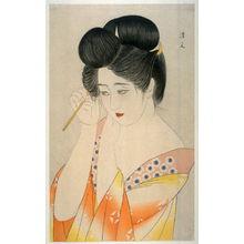 Kiyoshi Kohayakawa: Woman Fixing Her Hair - Legion of Honor
