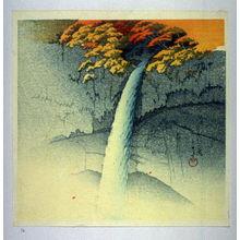 川瀬巴水: Kegon Waterfall in Nikko - Legion of Honor