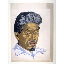 Sekino Jun'ichiro: Portrait of Koshiro Onchi - Legion of Honor