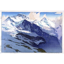 吉田博: Jungfrau (Swiss Alps) - Legion of Honor