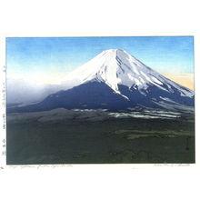 Yoshida Hiroshi: Mount Fuji from Yoshida - Legion of Honor