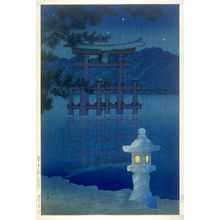 Kawase Hasui: Moonlight at Miyajima - Legion of Honor