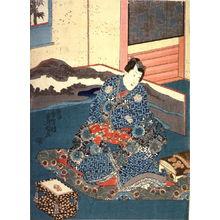 Utagawa Kunisada: Ka ni sasou haru no tsumeoto - Legion of Honor