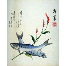 Chosui: [Two fish and flowering grass] - Legion of Honor