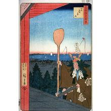Utagawa Hiroshige: Atago Hill in Shiba (Shiba atagoyama), no. 21 from the series One Hundred Views of Famous Places in Edo (Meisho edo hyakkei) - Legion of Honor