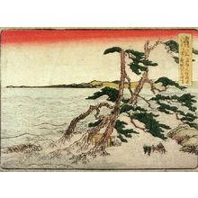 Katsushika Hokusai: Hamamatsu, no. 31 from an untitled Tokaido series (reissue of Hokusai's Tokaido series for poetry circle of Okazaki) - Legion of Honor