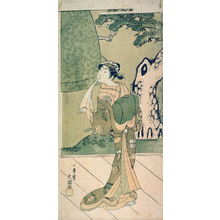 Ippitsusai Buncho: The Actor Ichimura Uzaemon IX as a Shirabyoshi (Temple Dancer) in the play Musume Dojoji - Legion of Honor