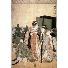 Eiri: Return of Prince Genji from a Shinto Shrine, part 3 of a pentaptych - Legion of Honor