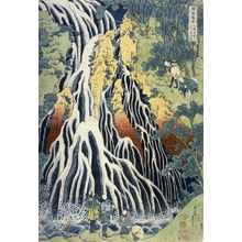 Katsushika Hokusai: Kirifuri Waterfall at Mount Kurokami in Shimotsuke Province, from the series A Tour of Waterfalls in the Provinces - Legion of Honor