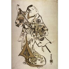 鳥居清倍: Actor as a young samurai - Legion of Honor