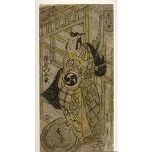 Torii Kiyonobu II: Tsuuchi Monzaburo as Soga no Goro (Soga no Goro Tsuuchi Monzaburo) - Legion of Honor