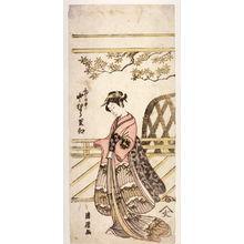 Torii Kiyotsune: Nakamura Riko as Shigenoi (Shigenoi Nakamura Riko) - Legion of Honor