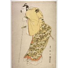 Utagawa Toyokuni I: The Actor Nakamura Nakaz? II as Kud? Suketsune in the Play 'Furiwakegami aoyagi Soga,' from an untitled series of portraits of actors - Legion of Honor