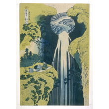 Katsushika Hokusai: Kiso, Amida - From Waterfall Series - Legion of Honor
