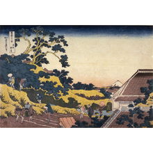 葛飾北斎: Fuji from Surugadai in Edo, from the series Thirty-Six Views of Mount Fuji - Legion of Honor