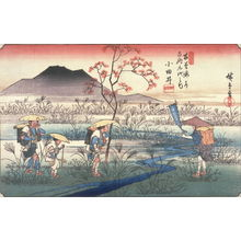 Utagawa Hiroshige: Odai, no. 22 from the series Sixty-nine Stations of the Kisokaido - Legion of Honor