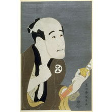 Toshusai Sharaku: The Actor Otani Tokuji, plate 9 from the portfolio Sharaku, Vol. 1 (Tokyo: Adachi Colour Print Studio, 1940) - Legion of Honor