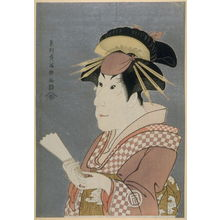 Toshusai Sharaku: The Actor Sanogawa Ichimatsu III, plate 10 from the portfolio Sharaku, Vol. 1 (Tokyo: Adachi Colour Print Studio, 1940) - Legion of Honor