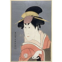 Toshusai Sharaku: The Actor Osagawa Tsuneyo II, plate 16 from the portfolio Sharaku, Vol. 1 (Tokyo: Adachi Colour Print Studio, 1940) - Legion of Honor