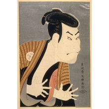 Toshusai Sharaku: The Actor Otani Oniji III, plate 18 from the portfolio Sharaku, Vol. 1 (Tokyo: Adachi Colour Print Studio, 1940) - Legion of Honor