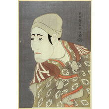 Toshusai Sharaku: The Actor Morita Kanya VII, plate 28 from the portfolio Sharaku, Vol. 1 (Tokyo: Adachi Colour Print Studio, 1940) - Legion of Honor