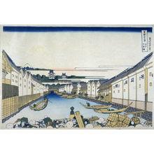 Katsushika Hokusai: Edo Nihombashi - from 36 Views of Fuji - Legion of Honor