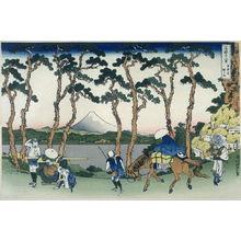 葛飾北斎: Tokaido Hodogaya - from 36 Views of Fuji - Legion of Honor