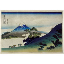 Katsushika Hokusai: Koshu Inuma Toge - from 36 Views of Fuji - Legion of Honor