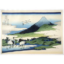 Katsushika Hokusai: Soshu Umezawa - from 36 Views of Fuji - Legion of Honor