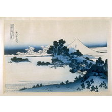 Katsushika Hokusai: Soshu Shitiri-gu-Hama - from 36 Views of Fuji - Legion of Honor