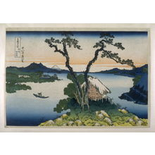 葛飾北斎: Shinshu Suwako - from 36 Views of Fuji - Legion of Honor