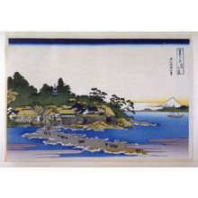 Katsushika Hokusai: Soshu Enoshima - from 36 Views of Fuji - Legion of Honor