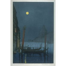 Yoshijiro Urushibara: Grand Canal, Venice - Legion of Honor