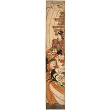 Torii Kiyonaga: The Seven Lucky Gods in a Treaure Ship - Legion of Honor