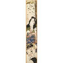 Yurakusai Nagahide: Yamauba, Kintaro, and Monkey - Legion of Honor